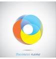 Abstract color figure vector image