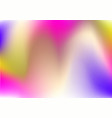 abstract holographic background 80s - 90s trendy vector image vector image