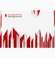 abstract of high sharp red technology geometrical vector image