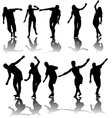 active people vector image vector image