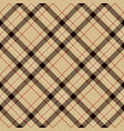 black red beige and white plaid tartan flannel vector image