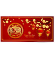 chinese new year 2020 1 vector image vector image