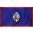 Flag of Guam vector image vector image