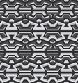 metallic seamless pattern vector image