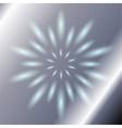 Ray circular blue light silver Background vector image vector image