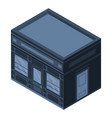 street shop icon isometric style vector image vector image