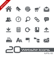 Website Internet Basics Series vector image vector image