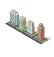 Office Buildings Isometric Design vector image
