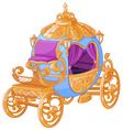 Cinderella Fairy Tale Carriage vector image vector image