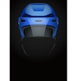 Dark Background of ice hockey vector image