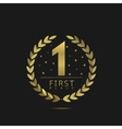 First place icon vector image vector image