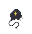 mobile charger vector image