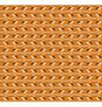 steel nut pattern vector image vector image
