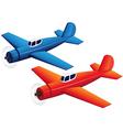 Toy planes vector image vector image