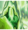 Abstract landscape background Mosaic vector image vector image