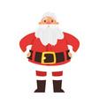 christmas new year santa claus vector image vector image