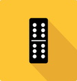 Domino simple flat vector image vector image