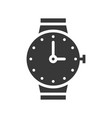 hand watch icon pixel perfect vector image