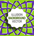 jagged round frame with shadow on background of vector image