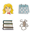 profession education and other web icon in vector image vector image