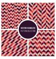 Seamless Truchet Geometric Pattern vector image vector image