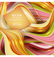abstract background with waves and place for your vector image vector image