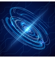 Abstract electric telecom Sci-fi techno vector image vector image