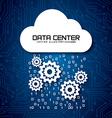 data center vector image vector image