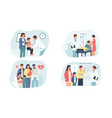 family doctor medical insurance and health care vector image vector image