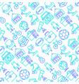 garage sale seamless pattern vector image vector image