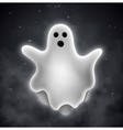 Ghost outdoors vector image vector image