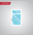 isolated glass flat icon clean element can vector image vector image