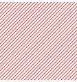 pink stripes on white background striped diagonal vector image vector image
