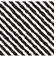 Seamless Black and White Roughly Hand Drawn vector image vector image