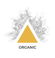 template organic 4 vector image vector image