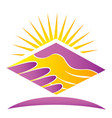 handshake agreement business hands icon vector image vector image