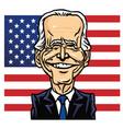joe biden president us united states vector image