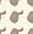 Saddle Background vector image vector image
