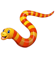 Sea snake vector image