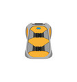 snowboarding backpack flat icon isolated vector image vector image