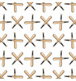 color baseball with bat and ball icon vector image vector image
