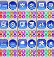 Free Snowflake Chat bubble No smoking Diagram vector image vector image