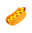 icon hot dog vector image vector image