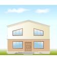 Real Estate For Sale facade vector image vector image