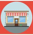 Shop flat vector image vector image