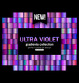 Ultra violet background collection purple green