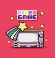 videogame pixel cartoons vector image vector image