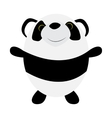 Cute Little Panda vector image