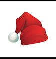 Hat Santa Claus vector image vector image