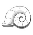 Helix black and white vector image